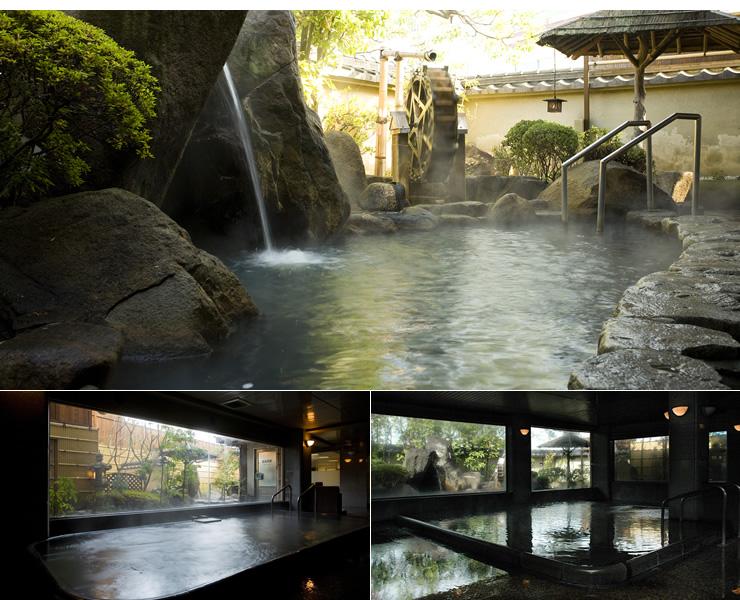 奈良では数少ない天然温泉がここにあります♪